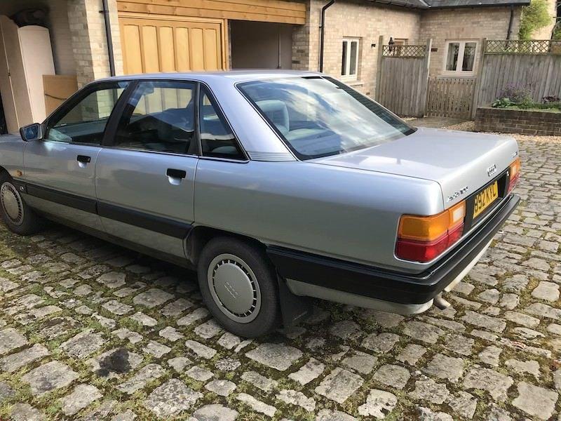 1989 Audi 100 C3 2.2 E Manual Silver MOT Nov 2020 For Sale (picture 2 of 5)