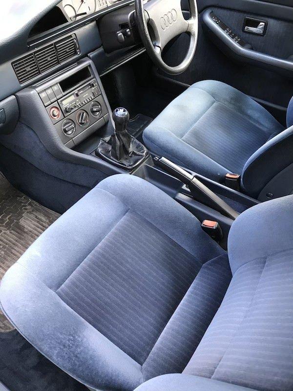 1989 Audi 100 C3 2.2 E Manual Silver MOT Nov 2020 For Sale (picture 3 of 5)