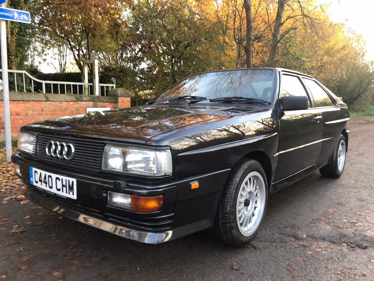 1986 audi ur quattro turbo For Sale (picture 1 of 6)