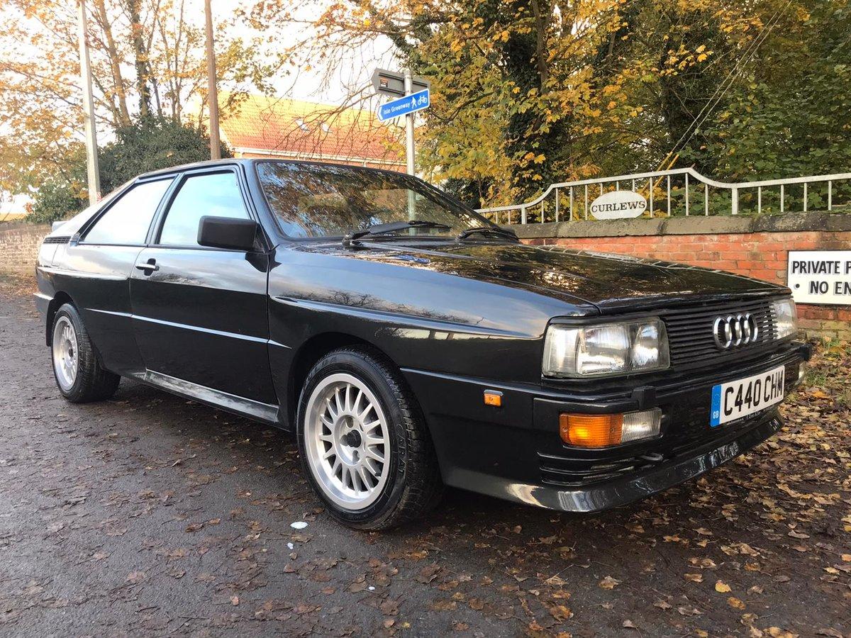 1986 audi ur quattro turbo For Sale (picture 2 of 6)