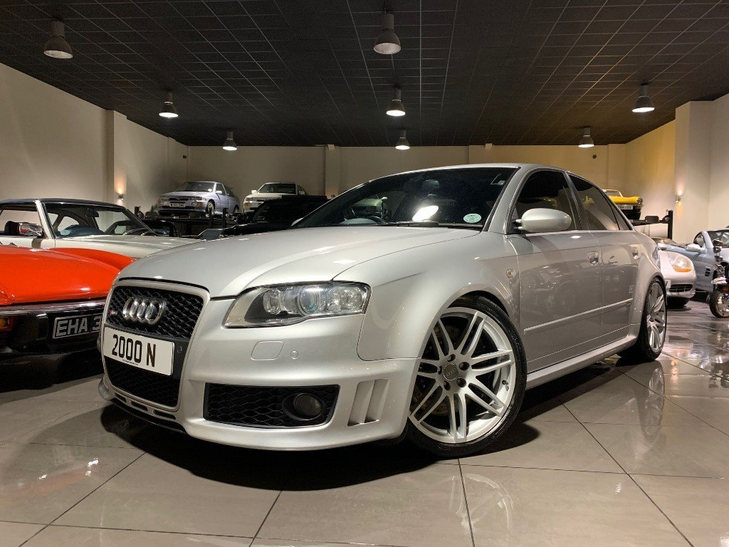 2007 AUDI RS4 B7 SALOON WITH ONLY 55,800 MILES SOLD   Car ...