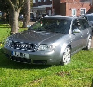 2000 Audi S6 Quattro 4.2 Tiptronic/ Cruise Control For Sale