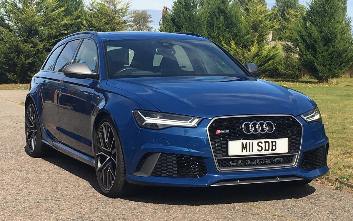 2016 Audi RS6 Avant Performace Automatic Model 605 Bhp For Sale (picture 1 of 6)