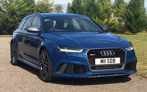 2016 Audi RS6 Avant Performace Automatic Model 605 Bhp