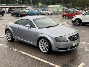 2002 Audi TT Quattro 180 Avus silver For Sale