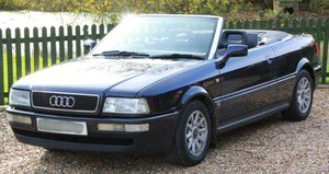 1995 Audi 80 2.0 Manual Convertible Very Original Car For Sale