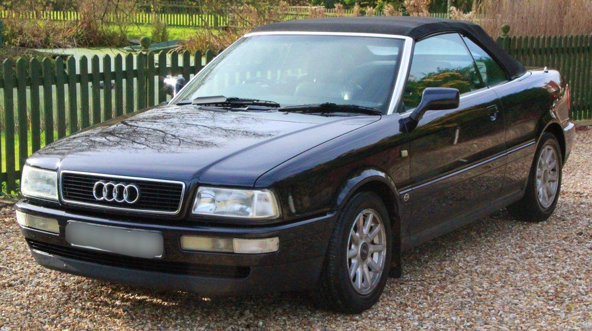1995 Audi 80 2.0 Manual Convertible Very Original Car For Sale (picture 5 of 6)