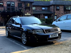 2003 Rs6 avant £18k maintenance receipts