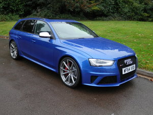 2014 Audi RS 4 Avant.. Very Hi Spec - Low Miles.. Superb Example.