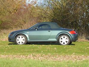 2001 Audi TT 225bhp 62k miles Full History Rare Olive Green