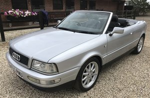 2000 Audi 80 convertible For Sale by Auction