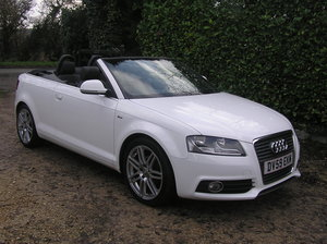 2009 Audi A3 Cabriolet 1.6 TDI S line For Sale