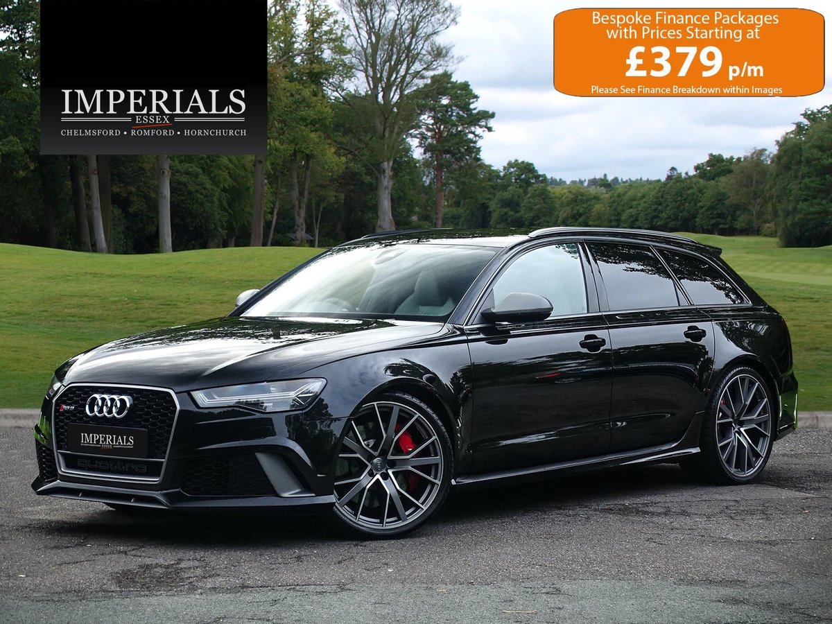 2017 Audi  RS6  4.0 TFSI AVANT PERFORMANCE QUATTRO VAT Q AUTO  56 For Sale (picture 1 of 24)
