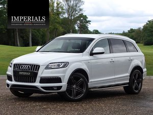2014 Audi  Q7  3.0 TDI QUATTRO S LINE PLUS 7 SEATER AUTO  22,495 For Sale