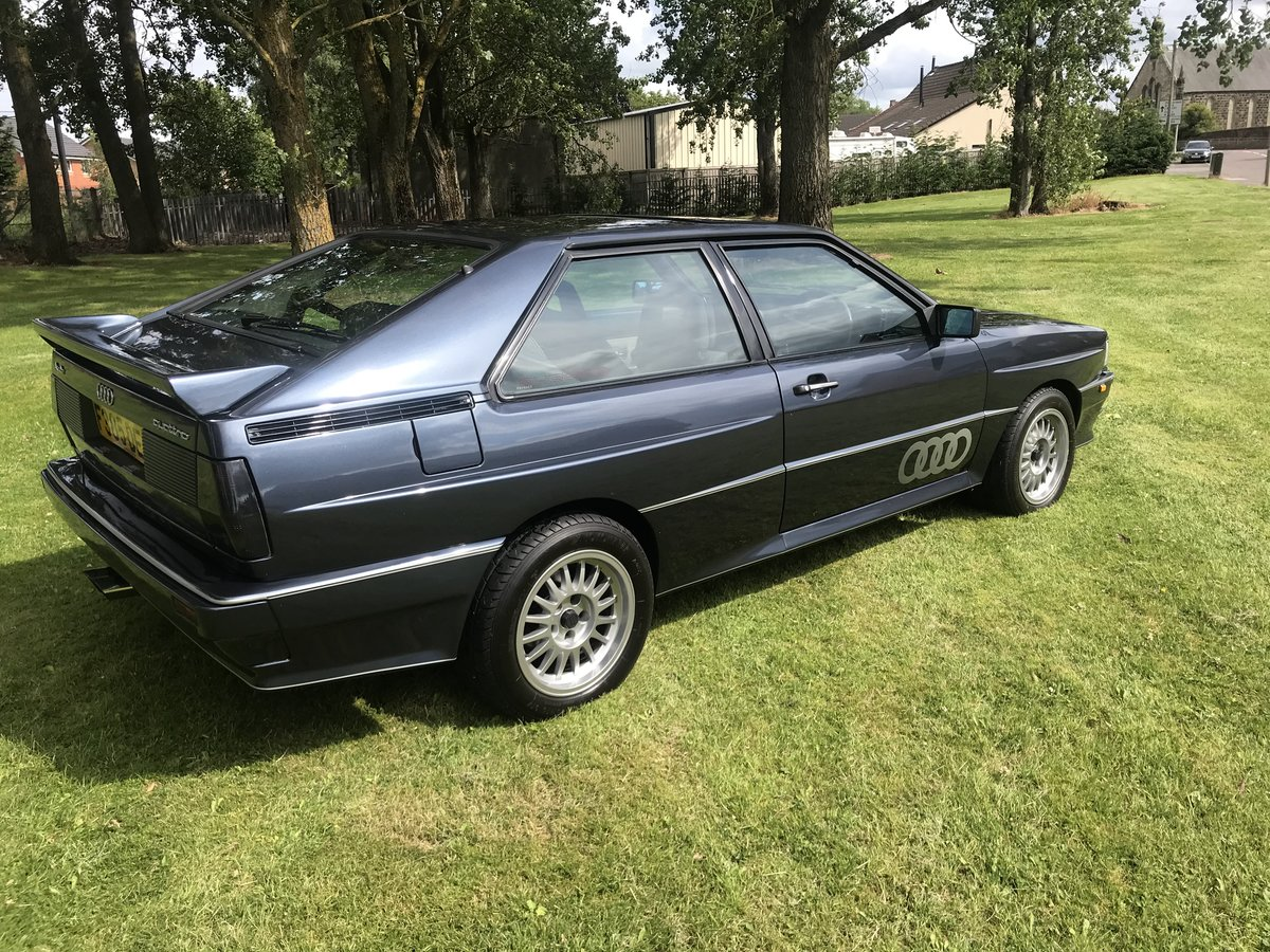 1989 Audi Quattro Turbo MB Coupe For Sale | Car And Classic