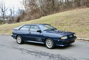1985  Audi UR quattro Coupe Manual Rare 1 of 73 + Blue $55.9k