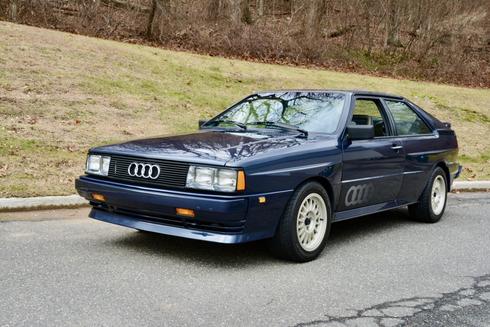 1985 Audi UR quattro Coupe Manual Rare 1 of 73 + Blue $55.9k For Sale (picture 2 of 6)