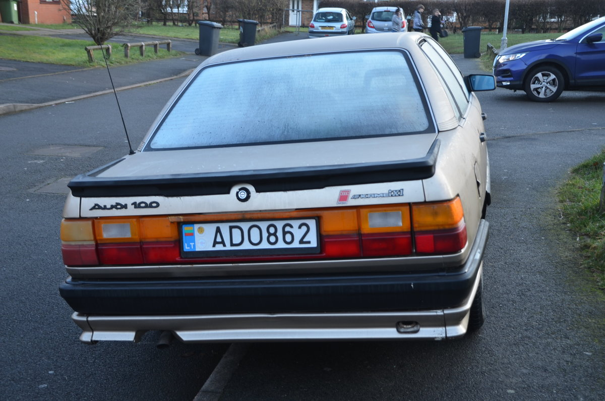 1986 Classic Audi 5000, c3 For Sale (picture 2 of 6)