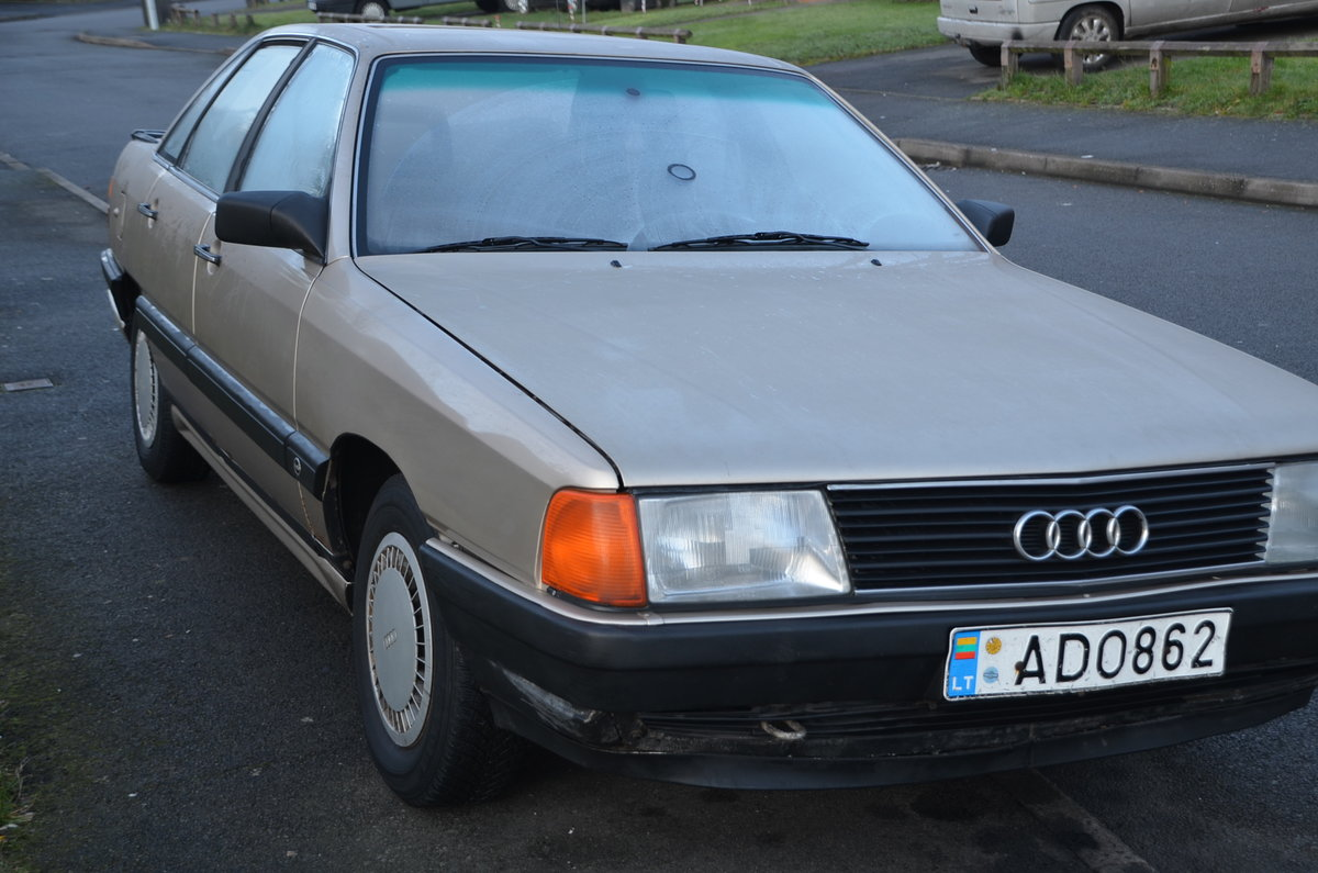 1986 Classic Audi 5000, c3 For Sale (picture 3 of 6)