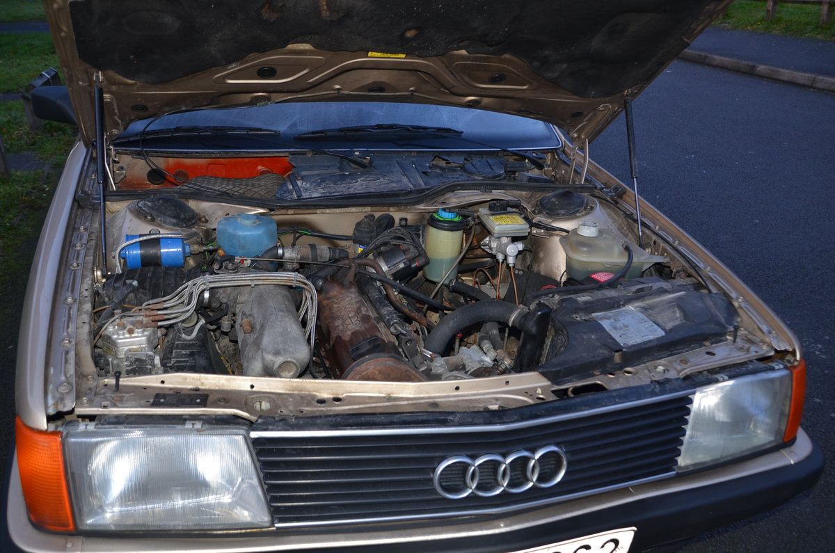 1986 Classic Audi 5000, c3 For Sale (picture 5 of 6)