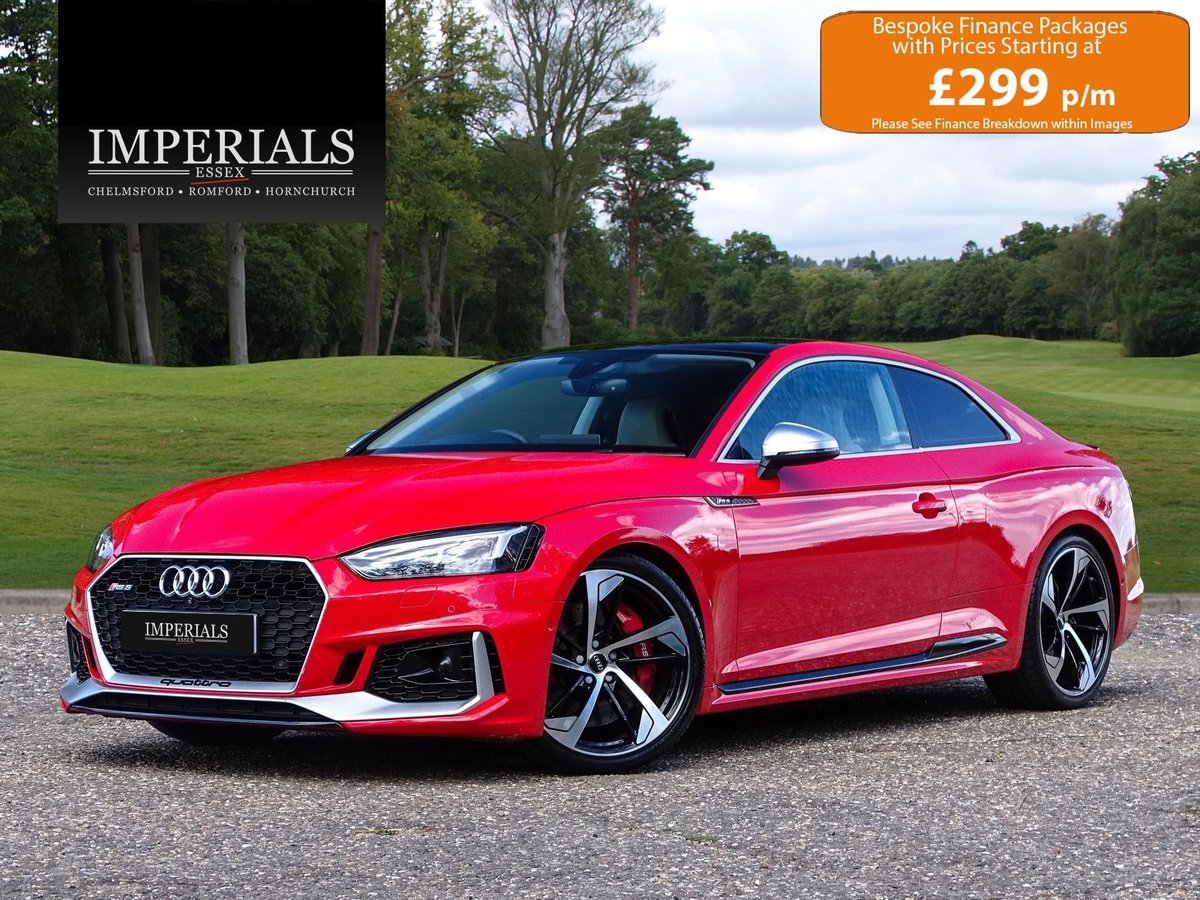 2017 Audi  RS5  2.9 TFSI QUATTRO AUTO  44,948 For Sale (picture 1 of 24)
