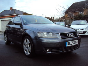 2005 Audi A3 SPORT– 2L FSI Petrol -3 Door– Nice Spec -  With MOT  For Sale