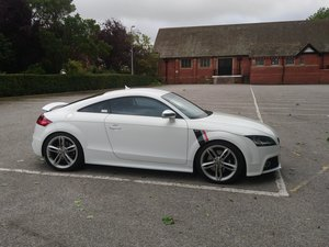 Audi TT TTS track focused sprint prepared