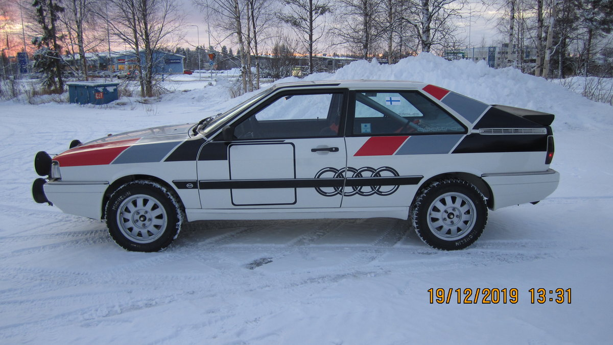 1986 Audi Coupe Quattro Group A SOLD (picture 1 of 6)