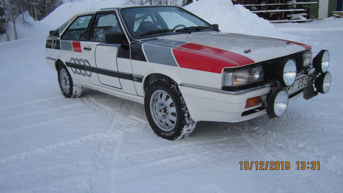 1986 Audi Coupe Quattro Group A For Sale (picture 2 of 6)