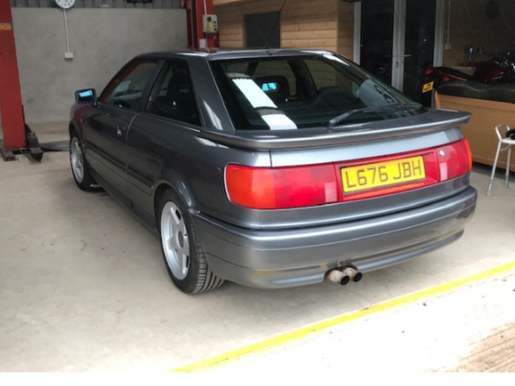 1994 Audi 80 coupe SOLD   Car and Classic