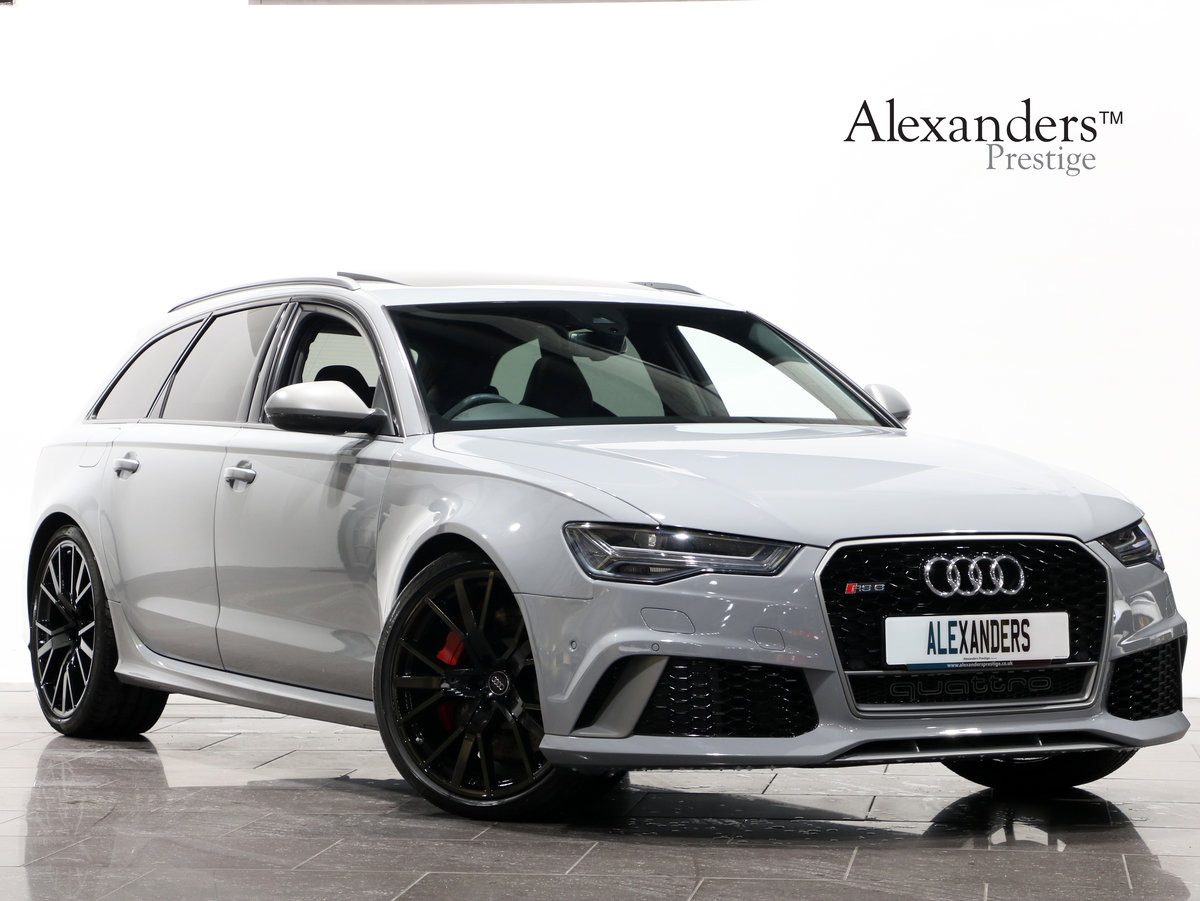 2017 17 67 AUDI RS6 4.0 V8 BI-TURBO PERFORMANCE AUTO For Sale (picture 1 of 6)