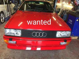 1986 Audi ur quattro