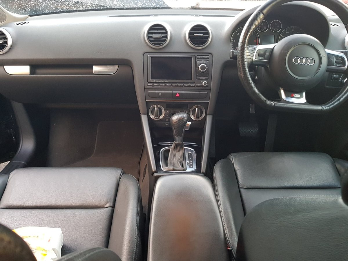 2010 Audi a3 - special edition sportback -2.0 tdi blac For Sale (picture 2 of 6)