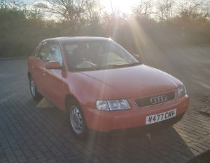 1999 Red Audi A3