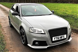 2011 Audi A3 2.0 TDI Black Edition Sport Back