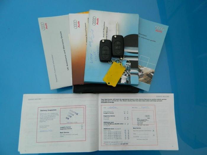 2001/51 Audi TT 1.8T Roadster Conv Quattro 51981 mls FSH For Sale (picture 6 of 6)