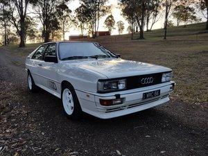 1983 Audi Quattro - Full Bare Shell Rebuild !