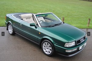 1998 Audi Cabriolet - 1 Owner with Very Low Mileage SOLD