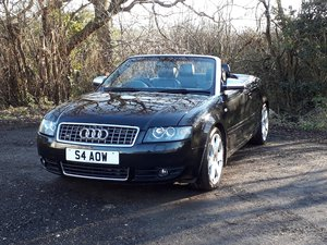 Picture of Gorgeous 2004 Audi S4 4.2 V8 Quattro Convertible SOLD