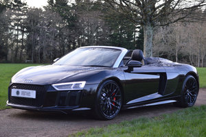 2017 Audi R8 V10 Spyder - Milltek Exhaust + Bang & Olufsen For Sale
