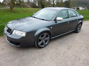 2004 Audi RS6 C4 Saloon FSH (14 Stamps)