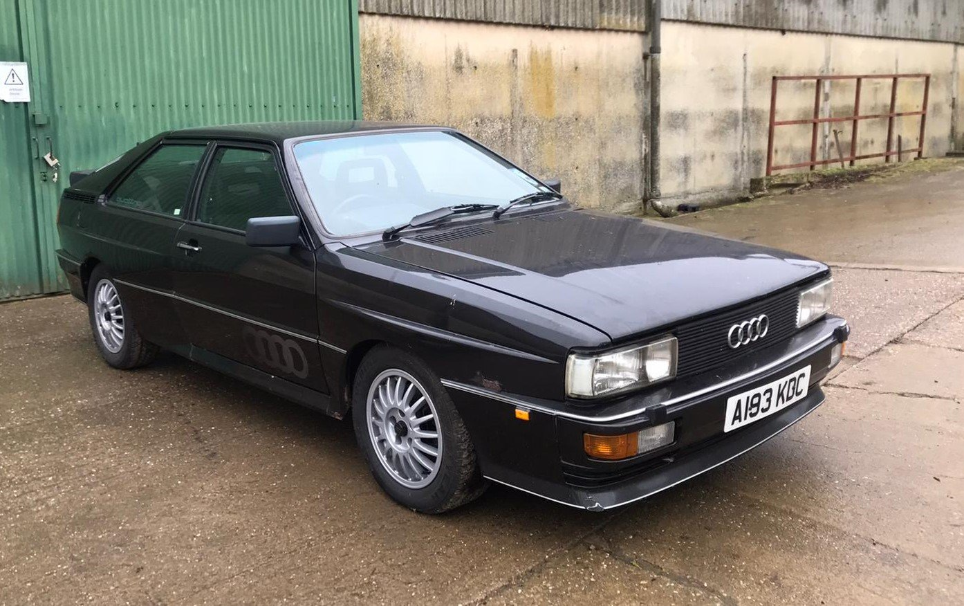 1984 Audi Quattro Turbo (WR) For Sale by Auction (picture 1 of 6)