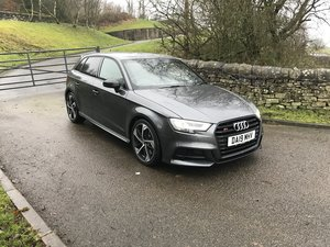 2019 Audi S3 Sportback Black Edition NOW £28995.00 SOLD