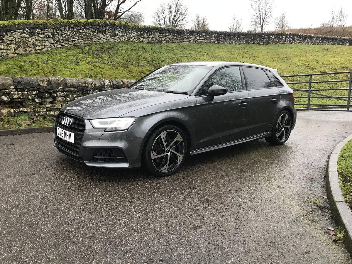 2019 Audi S3 Sportback Black Edition NOW £28995.00 SOLD ...