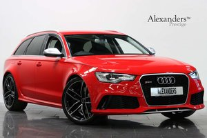 2014 14 64 AUDI RS6 AVANT 4.0T V8 FSI AUTO For Sale