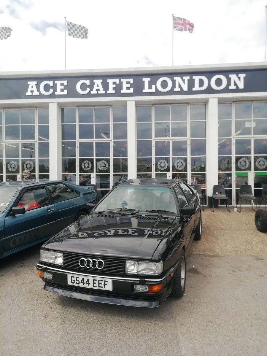 1990 Rare Audi ur quattro turbo  RR 20v.G Reg. For Sale (picture 1 of 6)