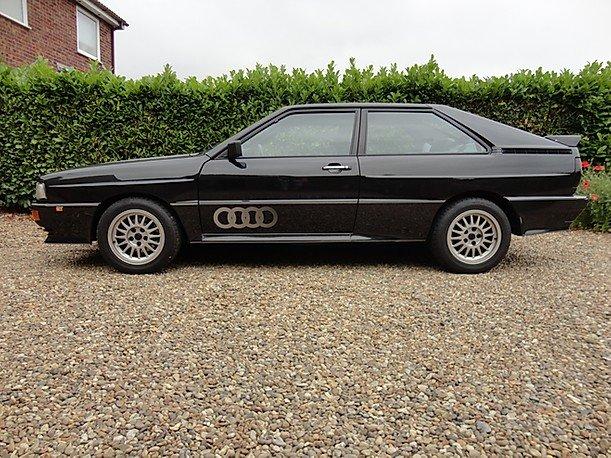 1990 Rare Audi ur quattro turbo  RR 20v.G Reg. For Sale (picture 2 of 6)
