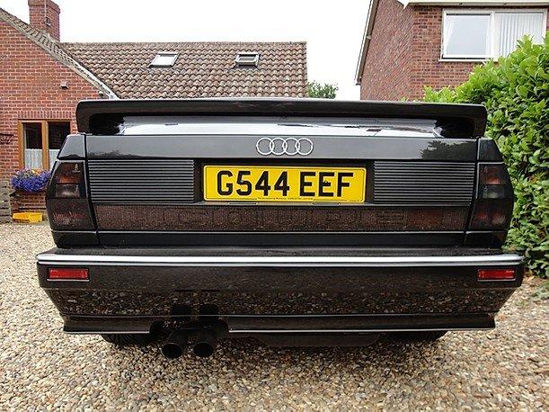 1990 Rare Audi ur quattro turbo  RR 20v.G Reg. For Sale (picture 4 of 6)