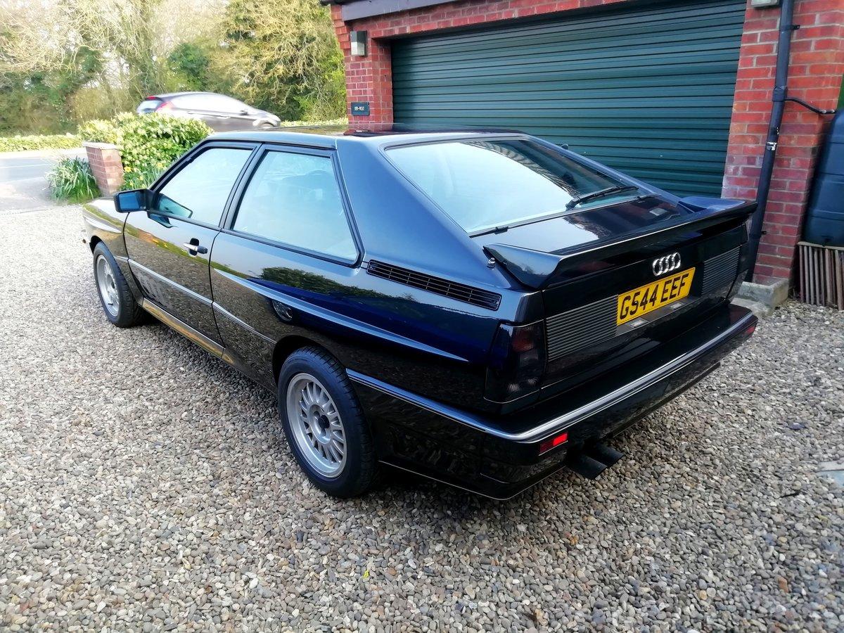 1990 Rare Audi ur quattro turbo  RR 20v.G Reg. For Sale (picture 5 of 6)