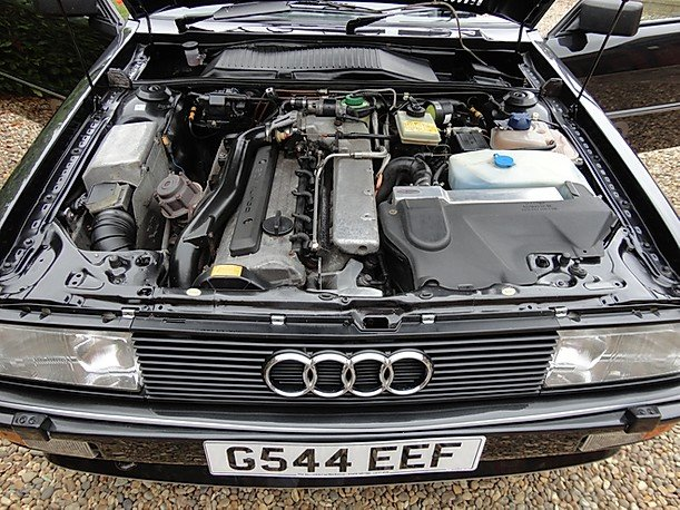 1990 Rare Audi ur quattro turbo  RR 20v.G Reg. For Sale (picture 6 of 6)